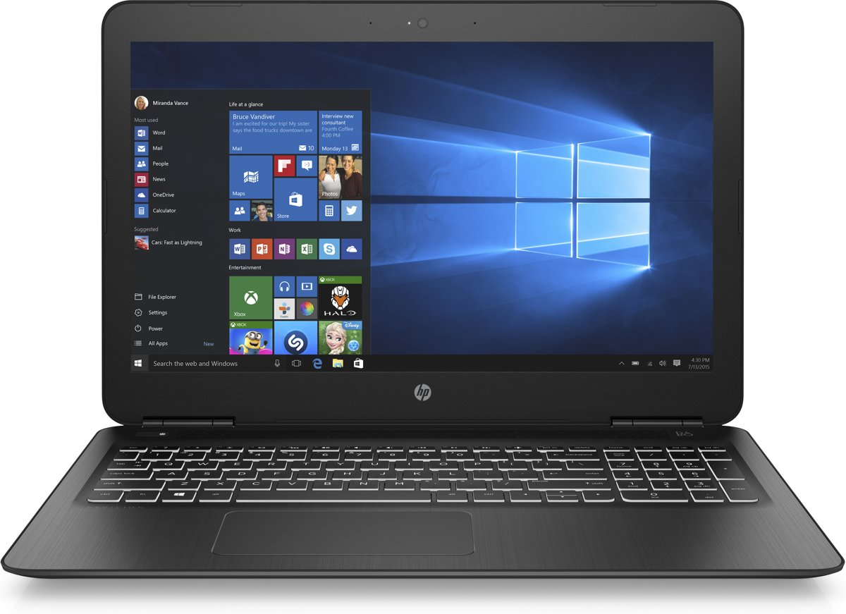 HP Pavilion 15-bc300nd - Laptop - 15.6 Inch voor €599,95