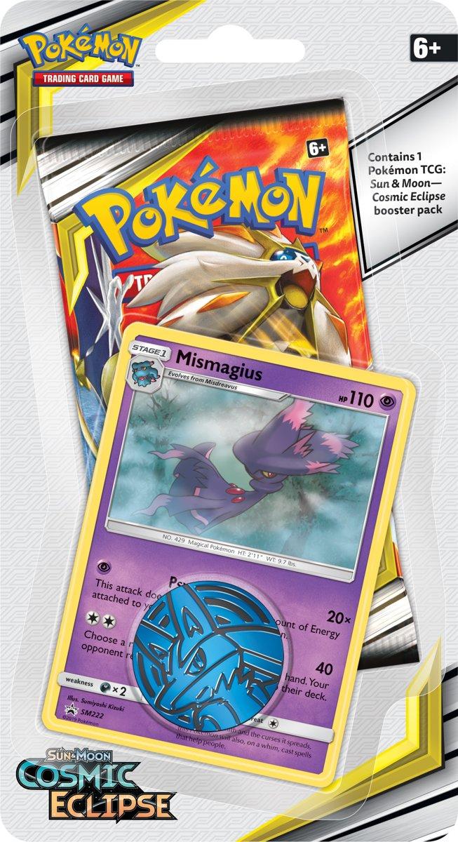 Pokémon Sun & Moon Cosmic Eclipse Checklane Booster Mismagius - Pokémon Kaarten kopen