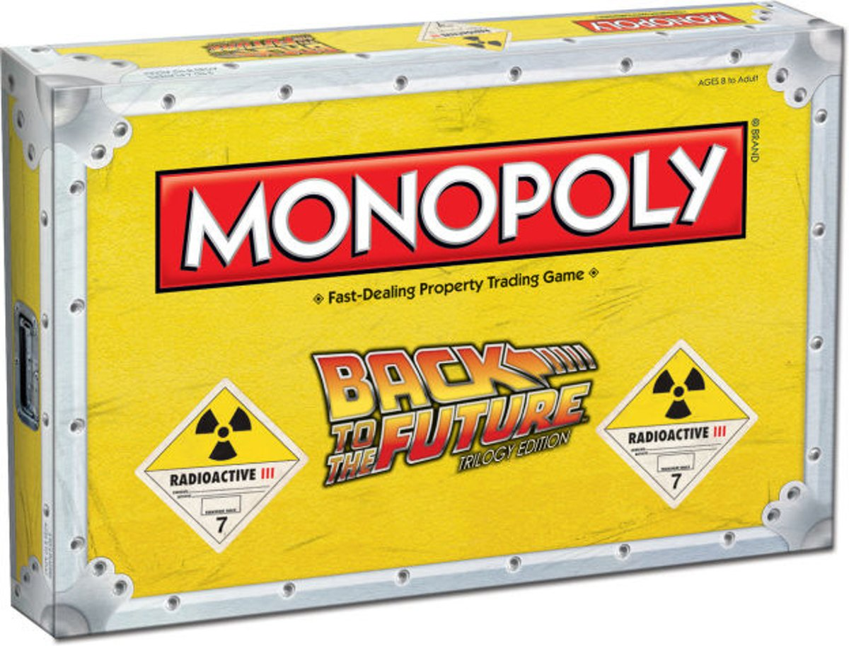 Monopoly Back to the Future - Bordspel - Engelstalig
