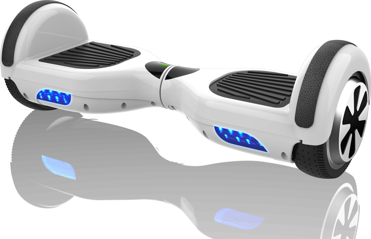 "Denver HBO-6610 White - hoverboard met 6,5"" wielen - Wit kopen"
