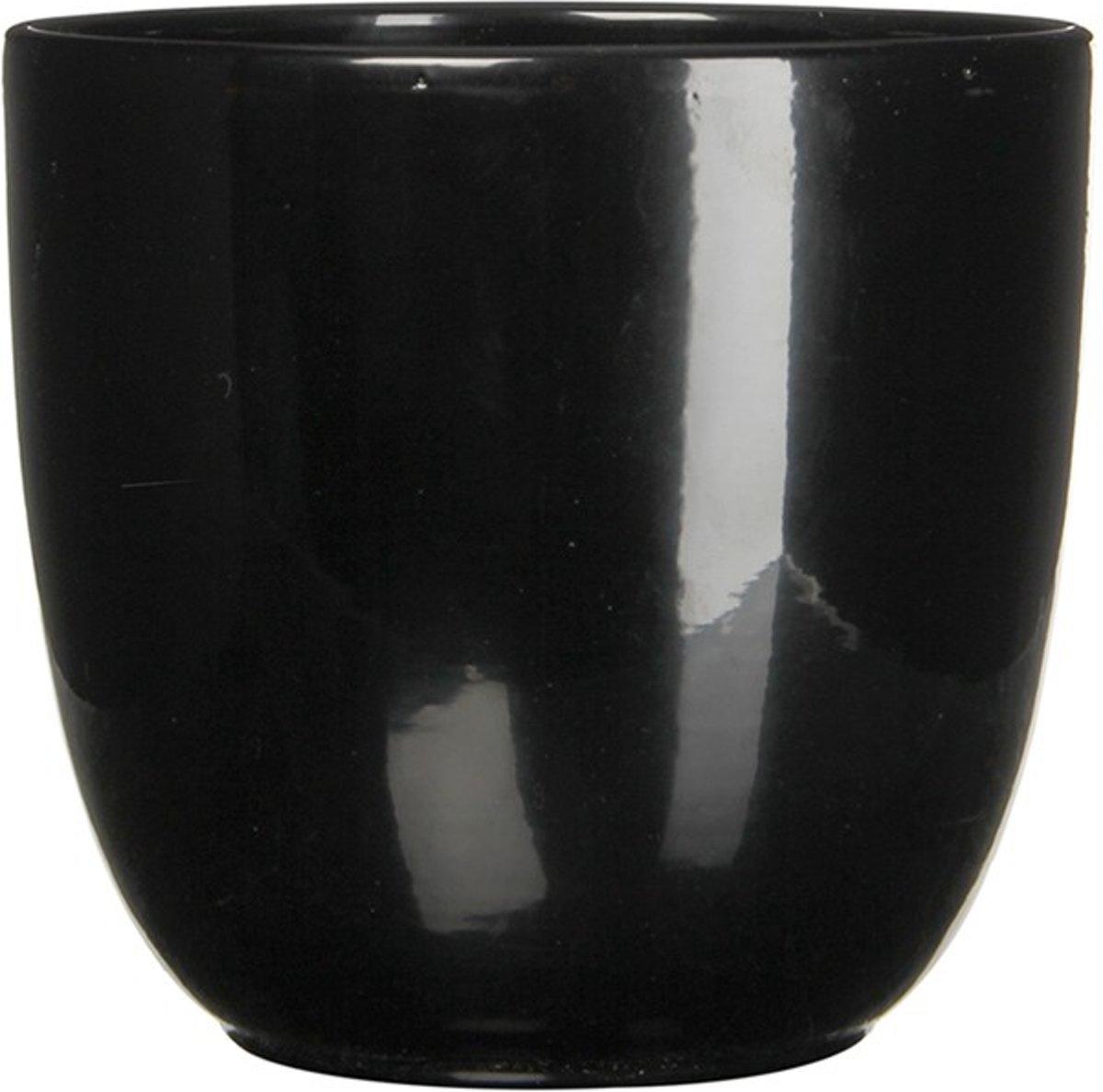 3 stuks Pot rond es/10.5 tusca 11 x 12 cm zwart kopen