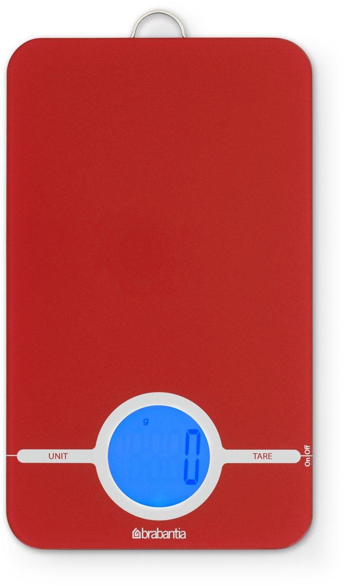 Brabantia Essential Keukenweegschaal Digitaal - Red