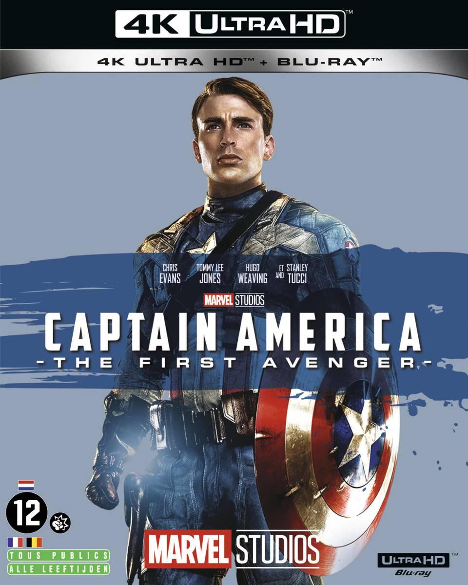 Captain America: The First Avenger (4K Ultra HD Blu-ray) (Import zonder NL)-