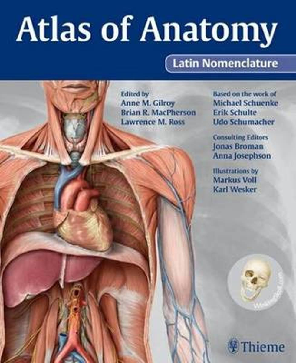 Bol Atlas Of Anatomy Anne M Gilroy 9781604060997 Boeken