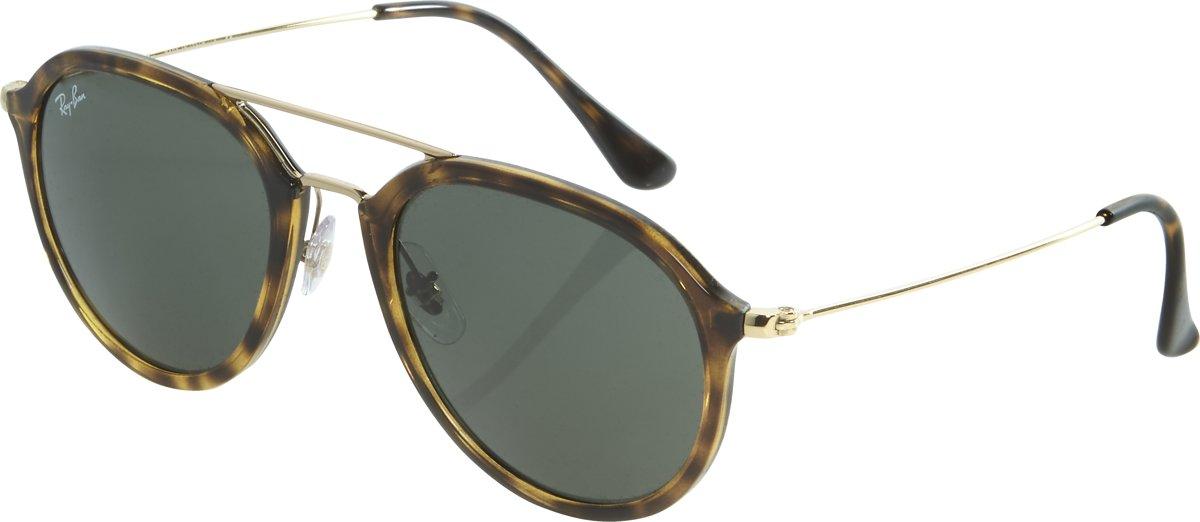 Ray-Ban RB4253 710 - zonnebril - Tortoise Goud / Groen Klassiek G-15 - 53mm kopen