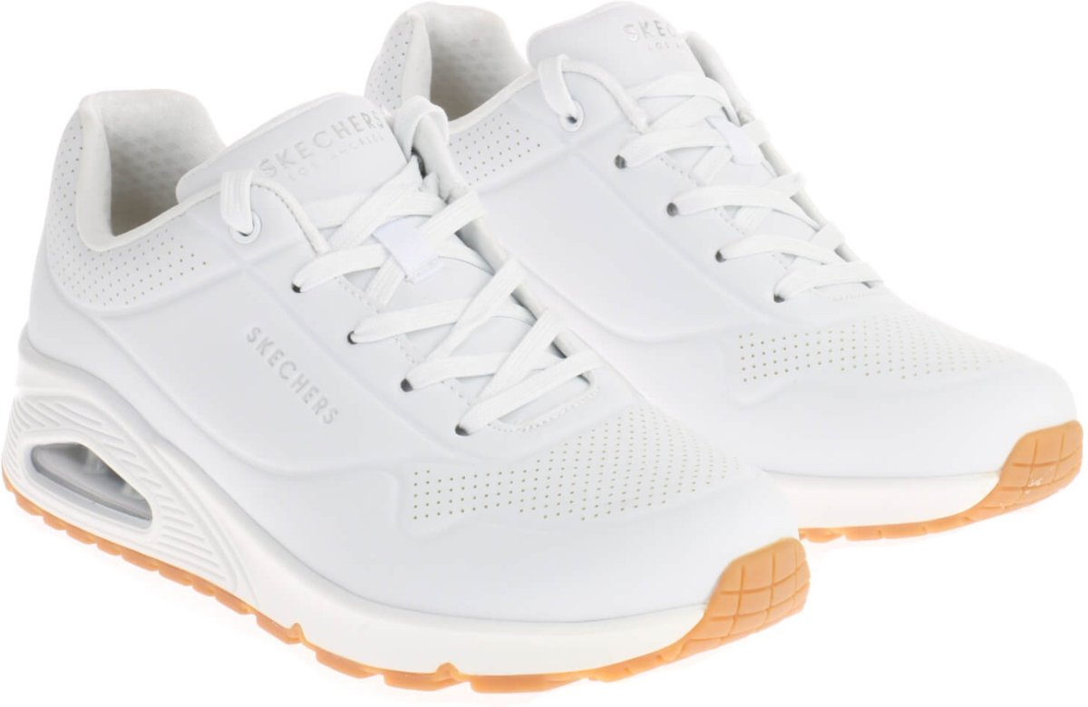 Skechers Uno Stand On Air Dames Sneakers Wit Maat 38