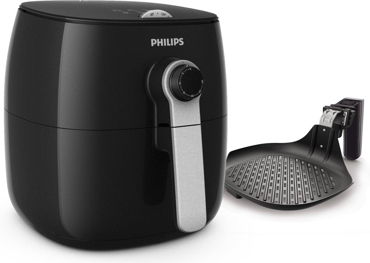 Philips Viva Airfryer HD9623/10 - Hetelucht friteuse - Zwart en zilver