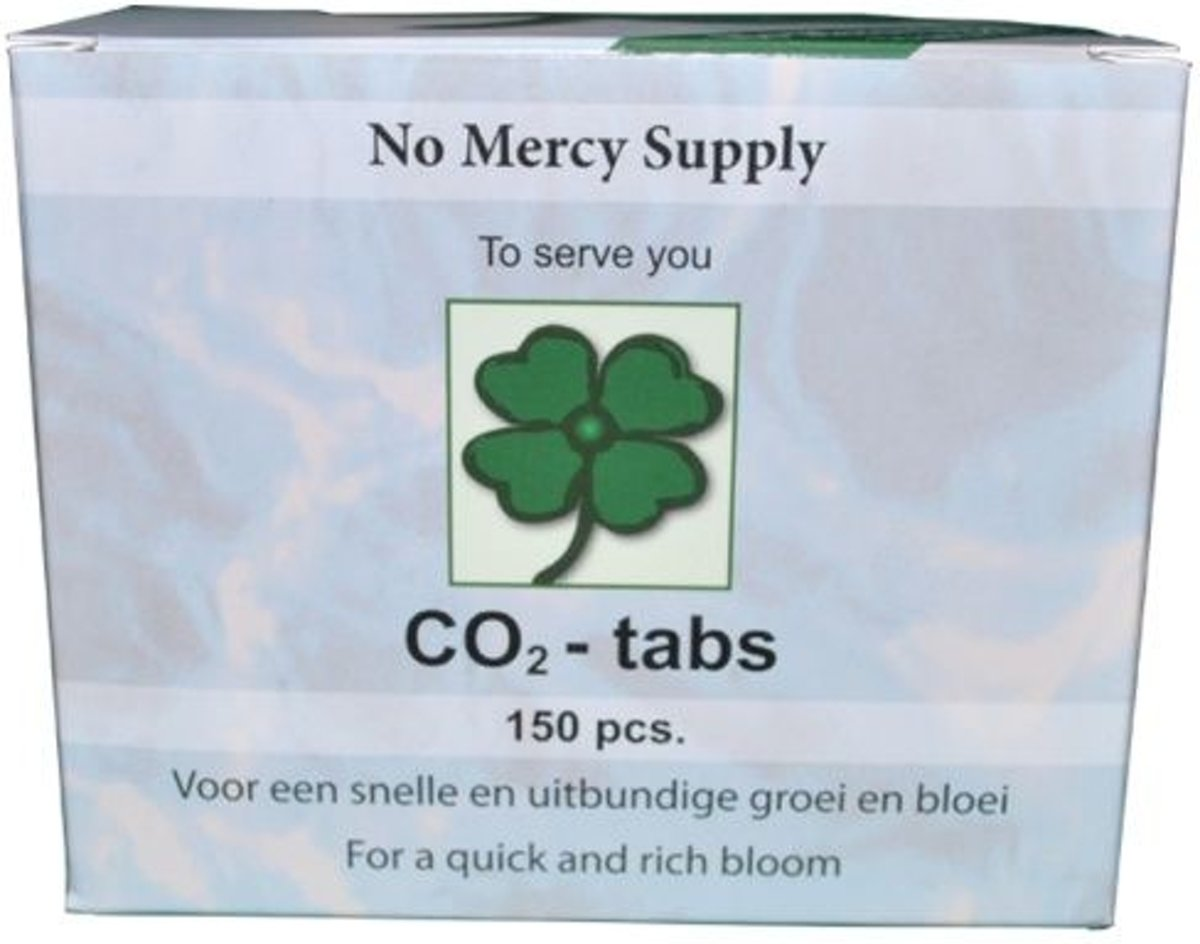 No Mercy Supply CO2-Tabs 150 Tabs stuks