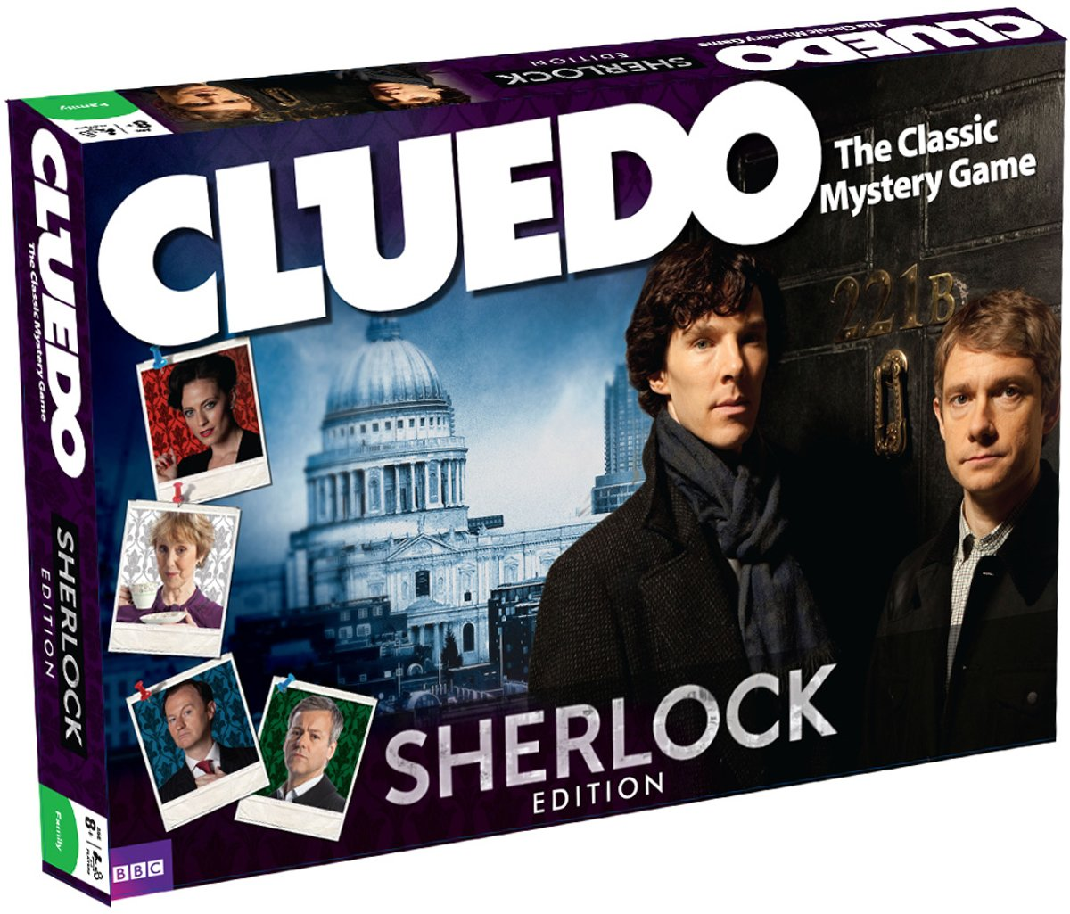 Cluedo Sherlock - Engelstalig Bordspel