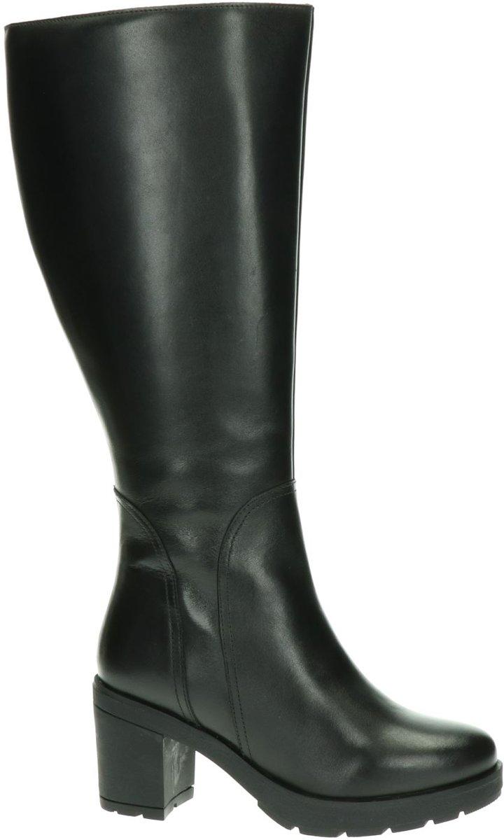 JJ Footwear Chinley XXL Hoge laarzen voor dames Zwart
