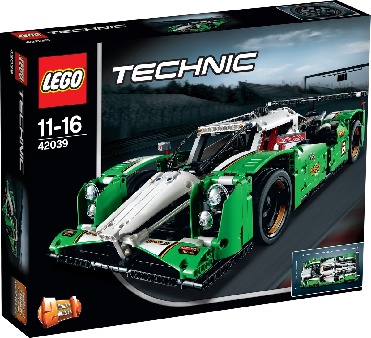 LEGO 42039 24-Uurs Racewagen