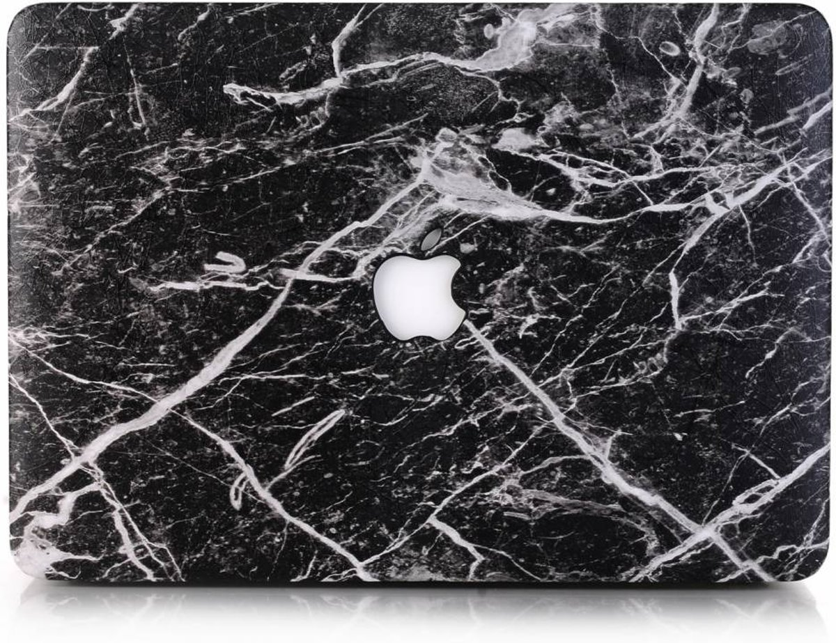 Lunso - cover hoes - MacBook Air 13 inch (2018) - Marble Cosmos kopen