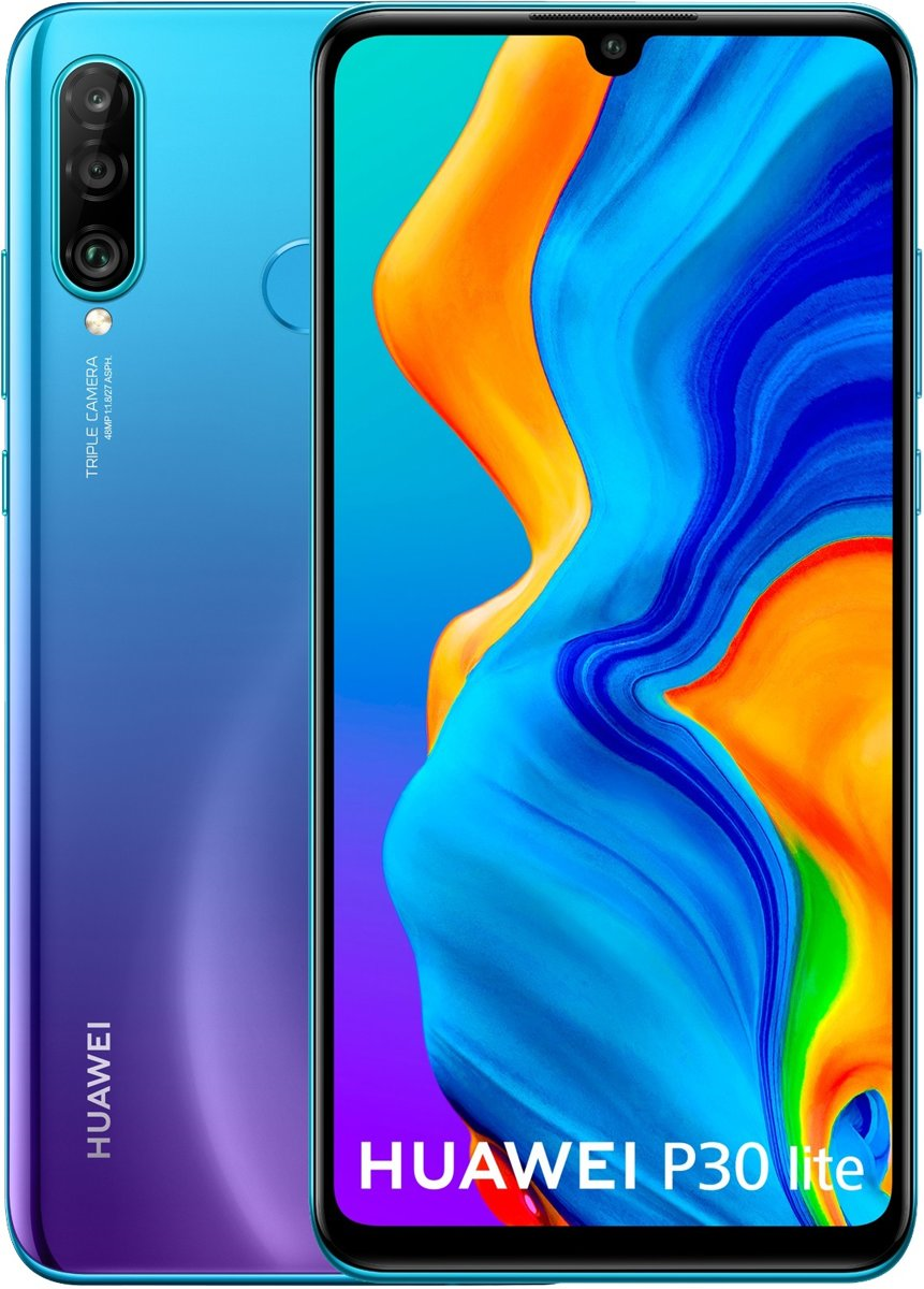 Huawei P30 Lite - 128GB - Peacock Blauw kopen