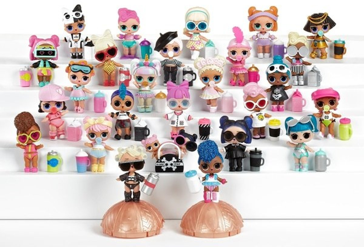 Bolcom Lol Surprise Bal Confetti Pop Series 3 2 2 Stuks