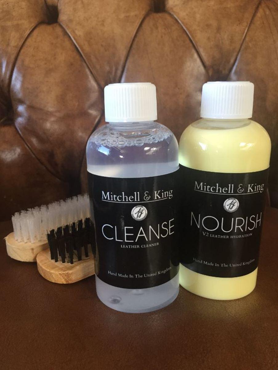 Leather Care Kit - Leerverzorgings pakket Mitchell and King kopen