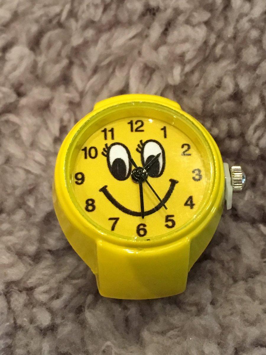 Horlogering smile geel kopen