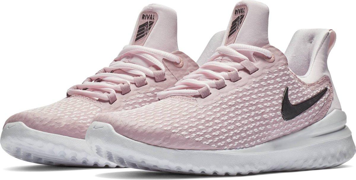 Nike Renew Rival Sportschoenen Dames Pale PinkBlack Plum Chalk Vas Maat 38.5