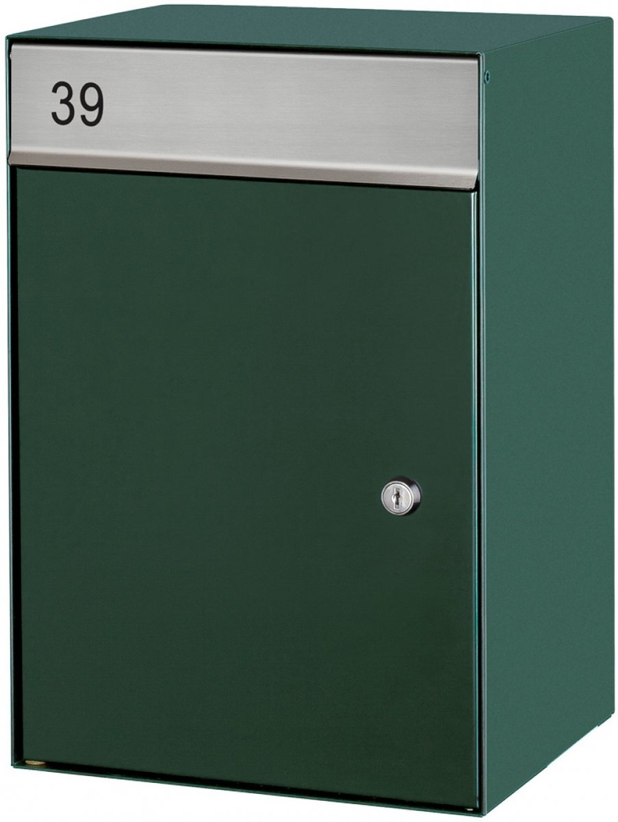 Brievenbus wandmodel (Groen)