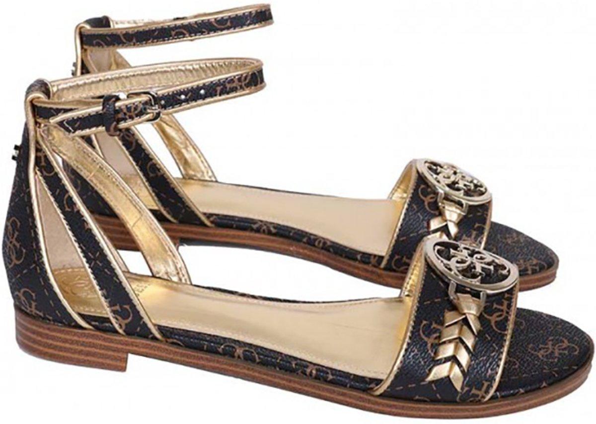 Goudkleurige Sandalen van Guess by marciano voor Dames Tot