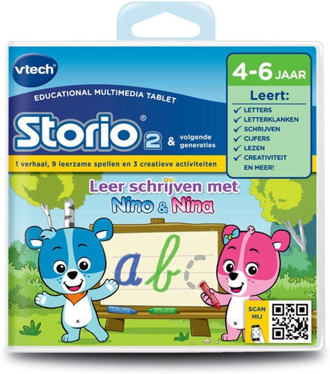 VTech Storio 2 Leer Schrijven - Nino & Nina - Game