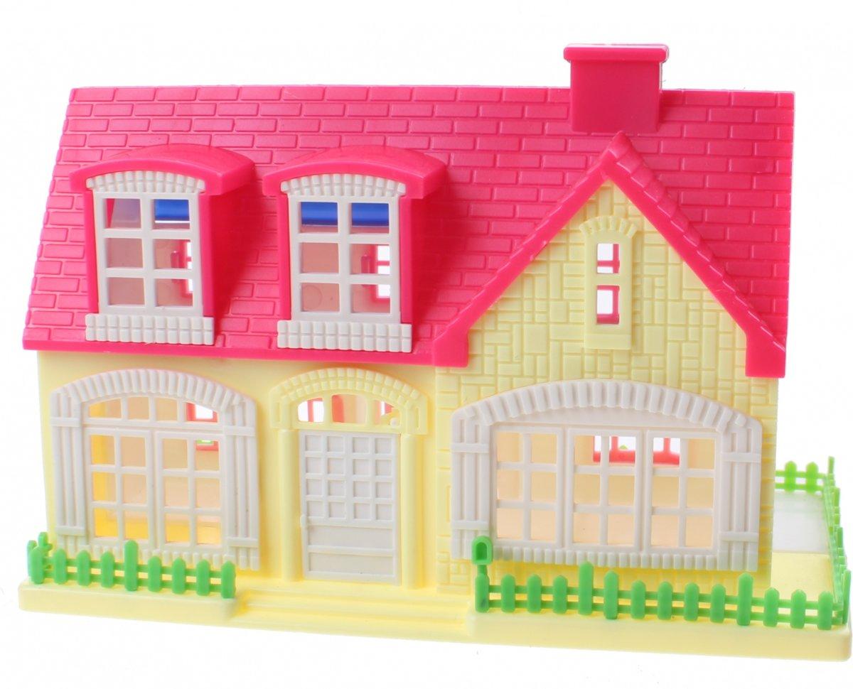 Jonotoys Speelhuis My Happy House Meisjes 13 Cm