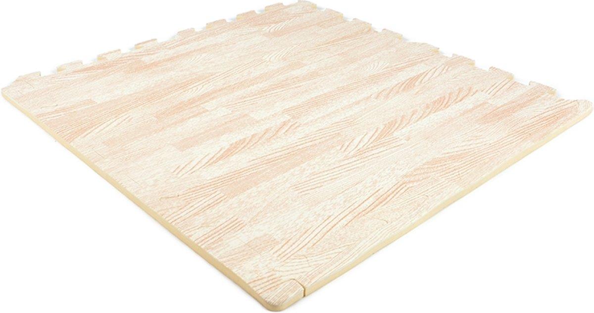 EVA FOAM tegels wit hout 62x62x1,2cm (set van 20 tegels + randen) kopen