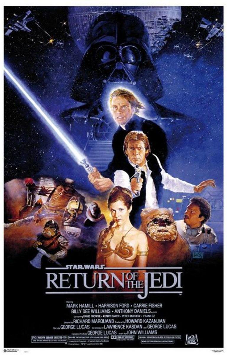Star Wars 6-VI-Return of the Jedi-film-poster-61x91.5cm. kopen