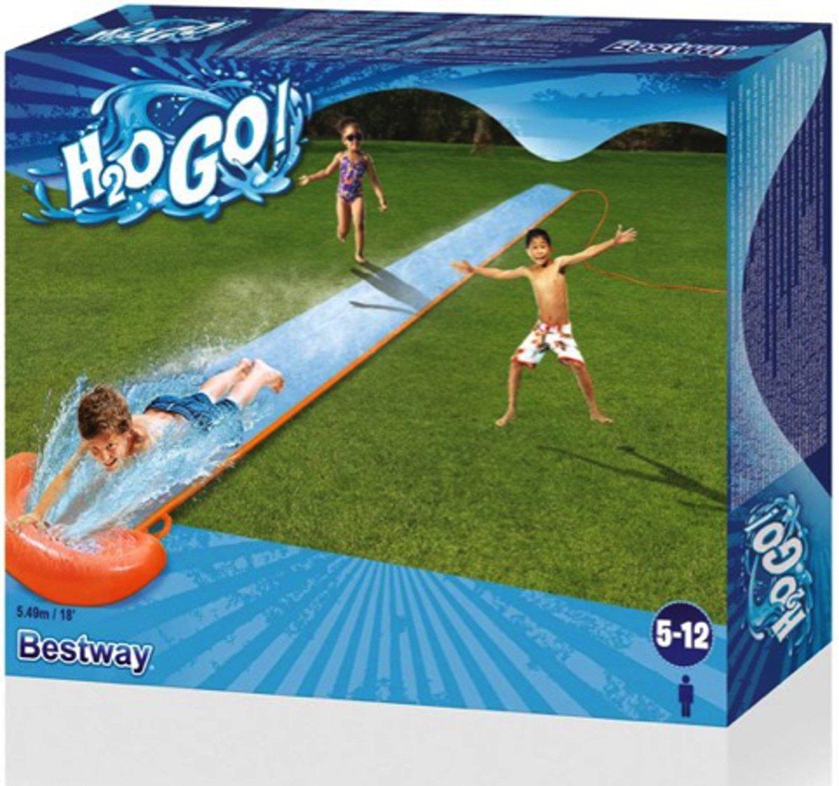Waterglijbaan - 550 centimeter lang!