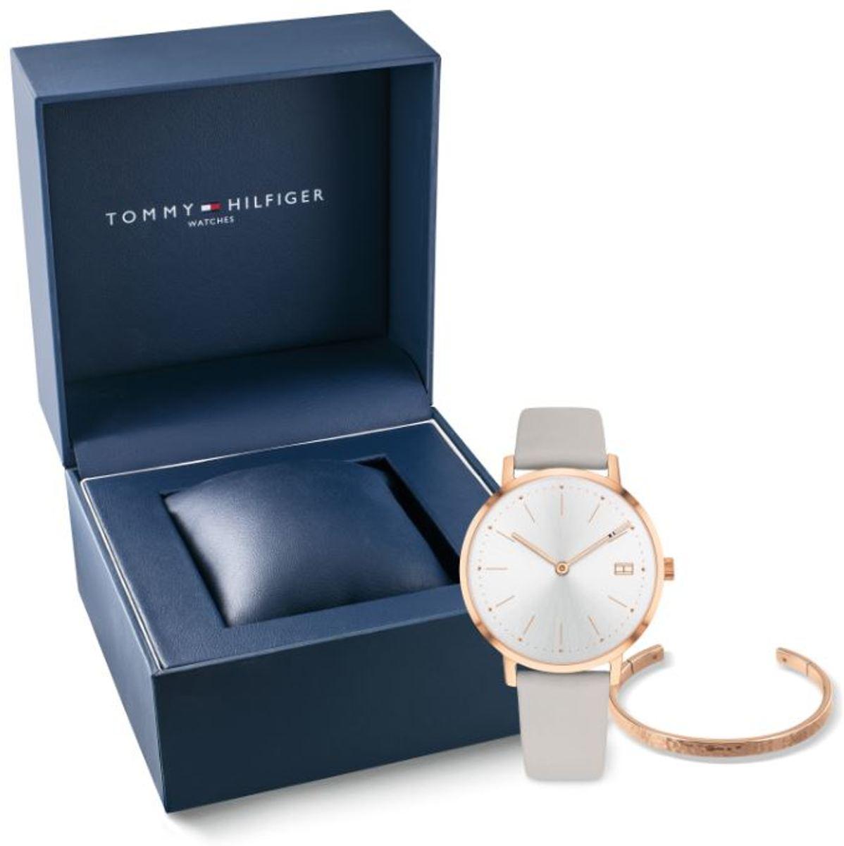 Tommy Hilfiger TH2770028 Giftset horloge dames - grijs - staal kopen