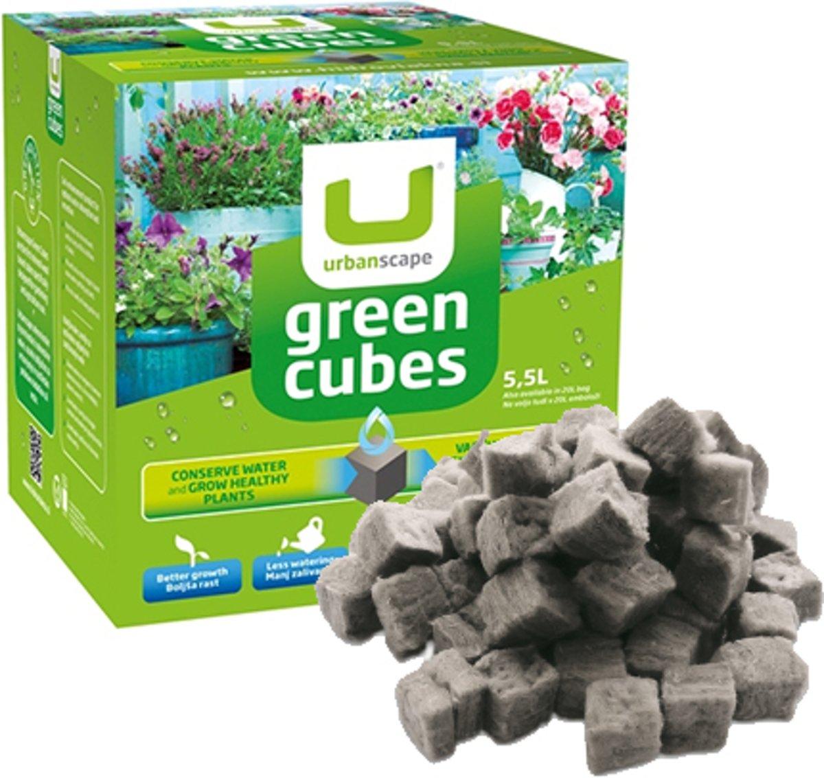 Urbanscape Greencubes Biologische Plantenvoeding - Lavameel - 600g
