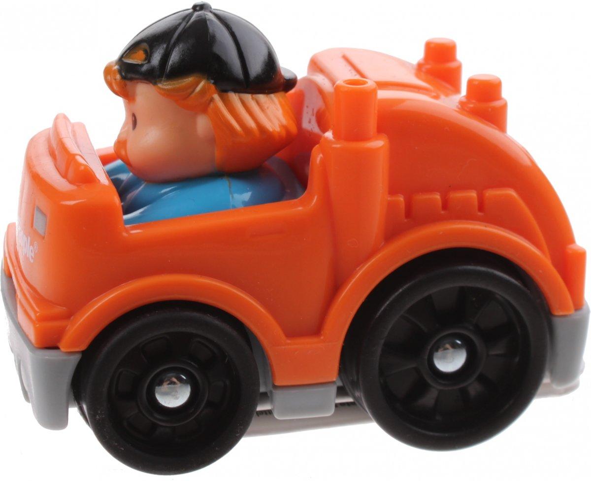 Fisher-price Little People Wheelies Auto 6,5 Cm Oranje (y5960)