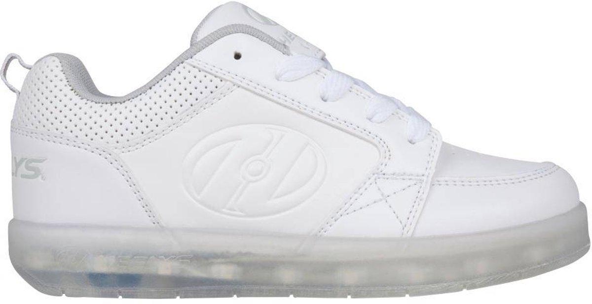 Chaussures À Roulettes Heelys Lo Blanc Haut De Gamme - Chaussures De Sport - Enfants - Taille 40,5 - Led - Rechargeables