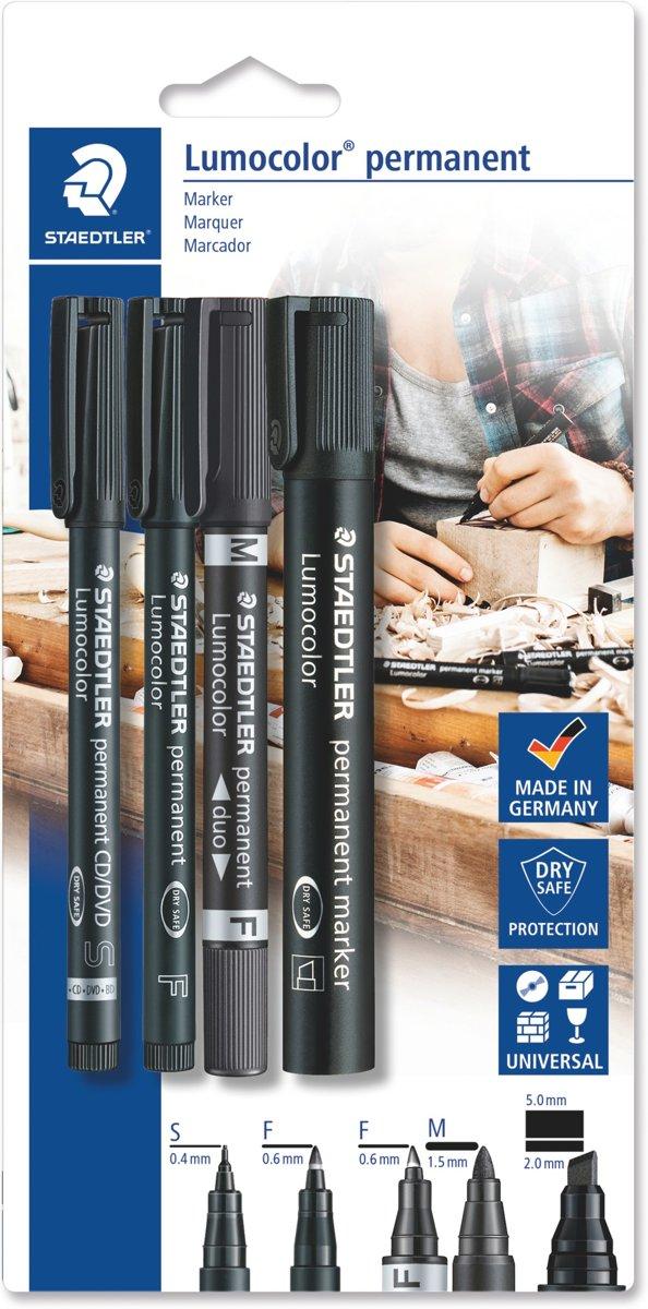 STAEDTLER LC permanent marker set (310-318-348-350)
