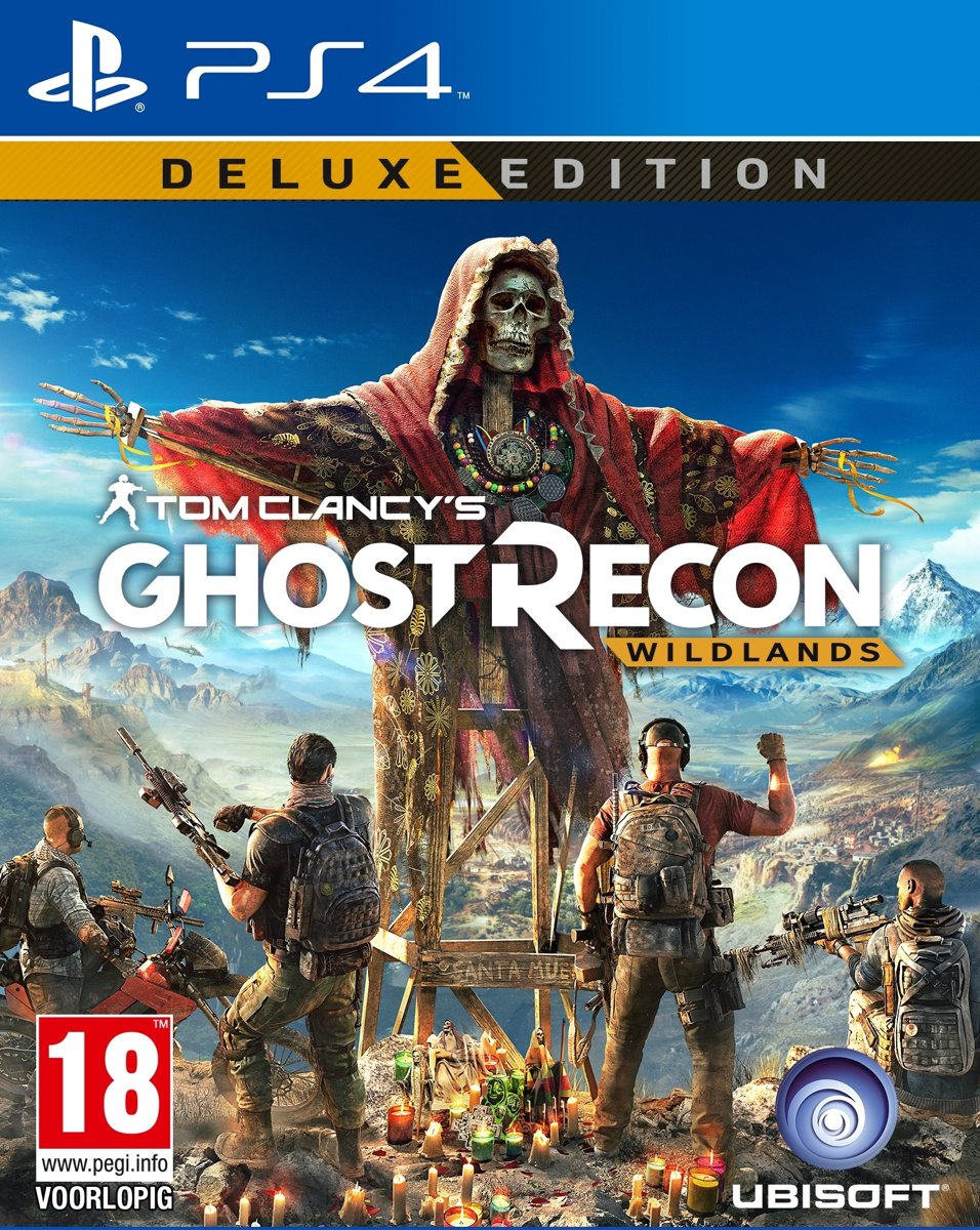 Ghost Recon: Wildlands - Deluxe Edition PlayStation 4