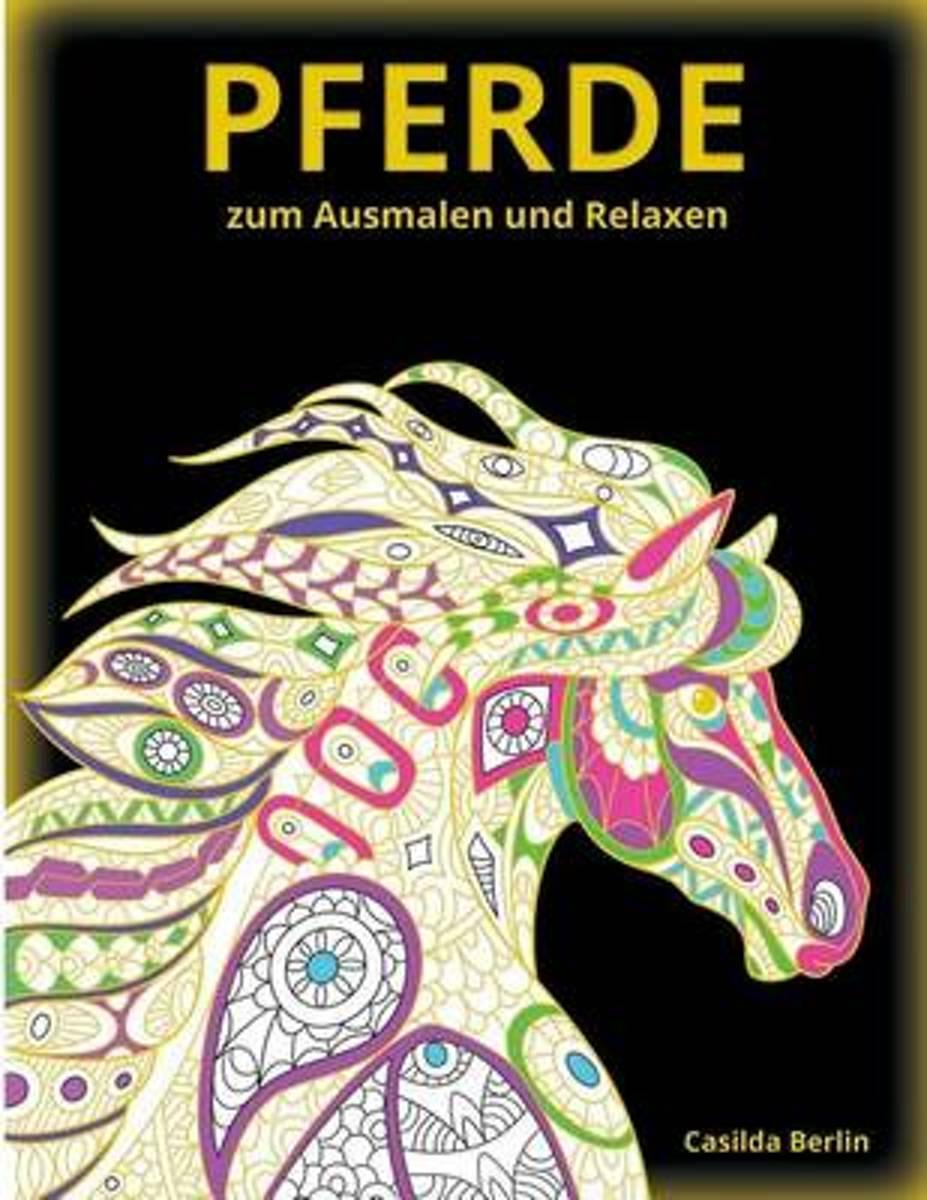Bol Com   Pferde - Zum Ausmalen Und Relaxen   9781534799226