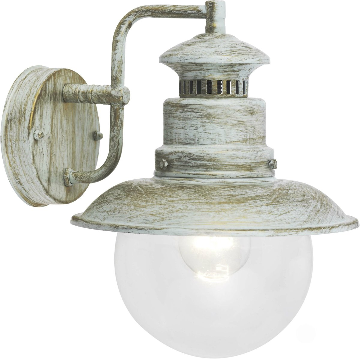 Brilliant ARTU Wandlamp 1x60W Goud,Wit,Goudkleurig IP44 kopen