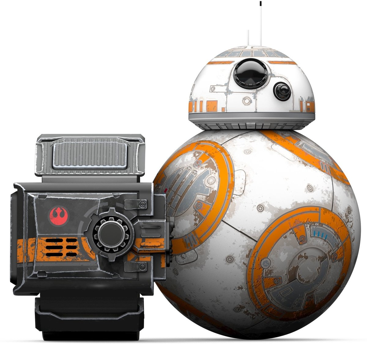 Sphero Star Wars Special Edition Battle-Worn BB-8 with Force Band Robot voor €99