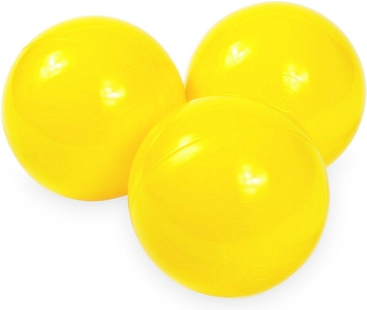 Ballenbak ballen geel (70mm) voor ballenbak 100 stuks