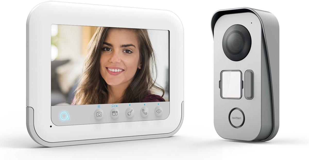 """Video intercom 2 draden Ylva 3+ display 7"""" RFID kopen"""