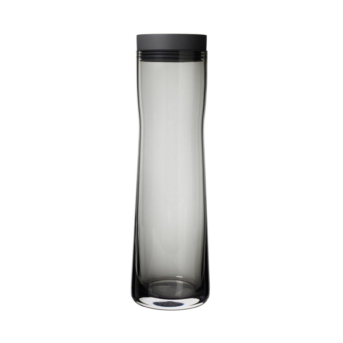 Blomus SPLASH water karaf - 1 liter - zwart getint glas kopen