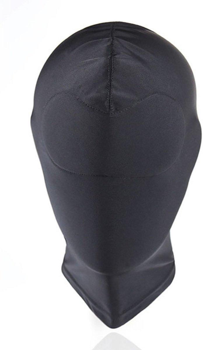 Foto van Banoch - Mask Full Black - Spandex Masker - BDSM- Zwart