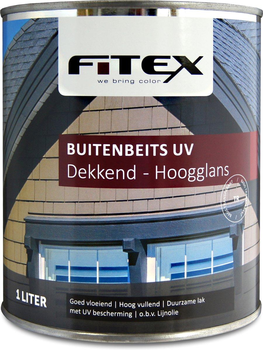 Fitex-Buitenbeits UV-Hoogglans-Ral 7016 Antracietgrijs-1 liter
