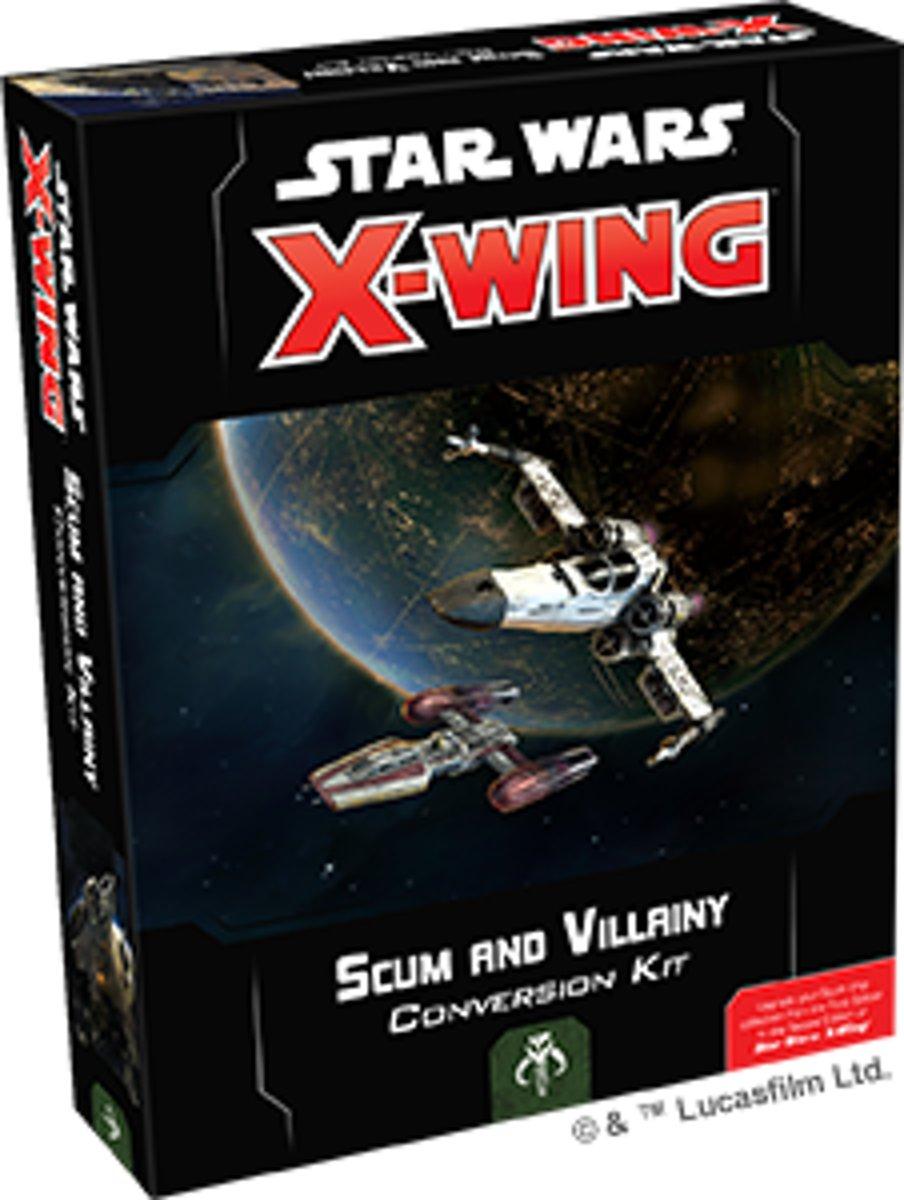 Star Wars X-wing 2.0 Scum and Villainy Conversion Kit - Miniatuurspel