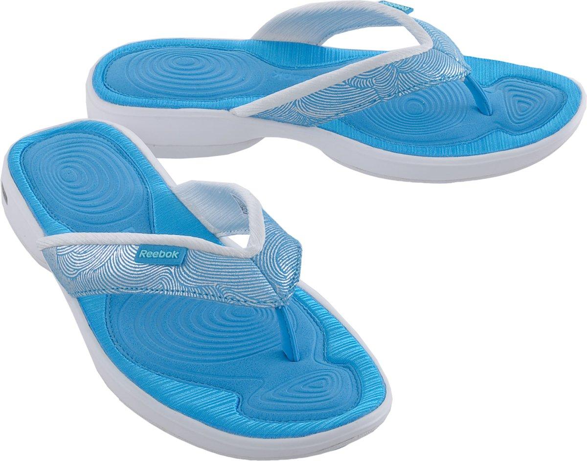 da229529702 bol.com | Reebok Easytone Flip II - Slippers - Vrouwen - Maat 36 - Blauw