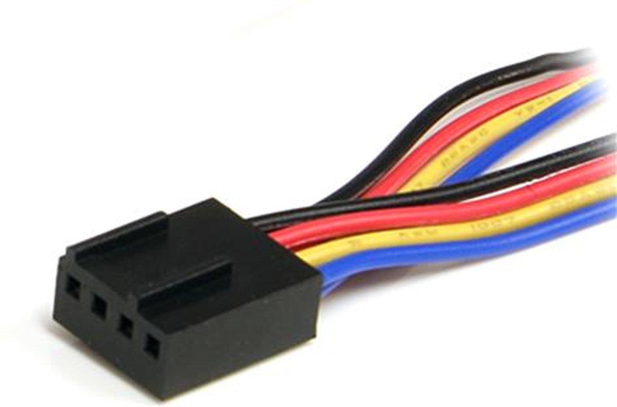 bol.com | StarTech.com 30cm 4-pins Splitterkabel Y-adapter voor ...