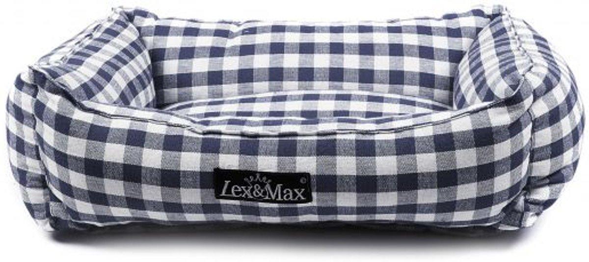 Lex & max carlos kattenmand  40x50cm donkerblauw