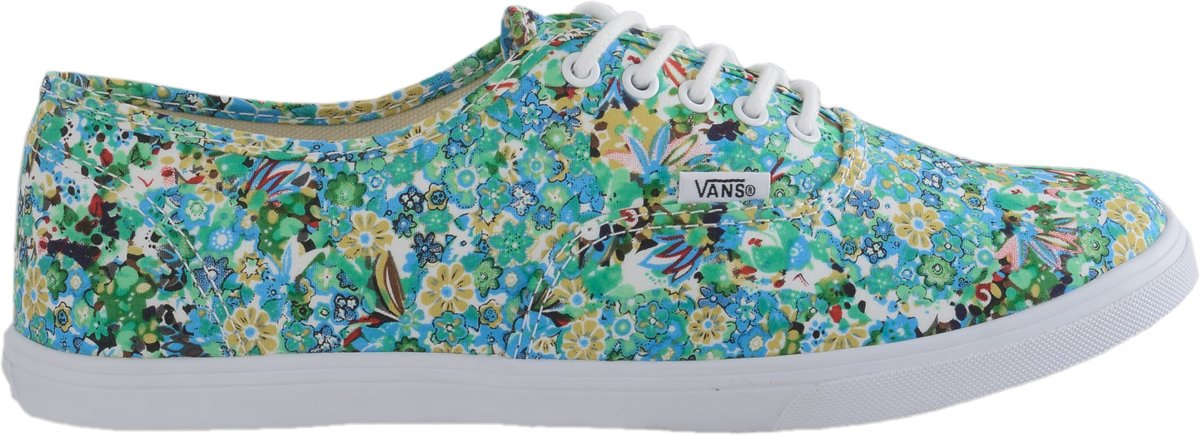 Vans Chaussures Baskets Authentique Lo Vert Vert qRSus