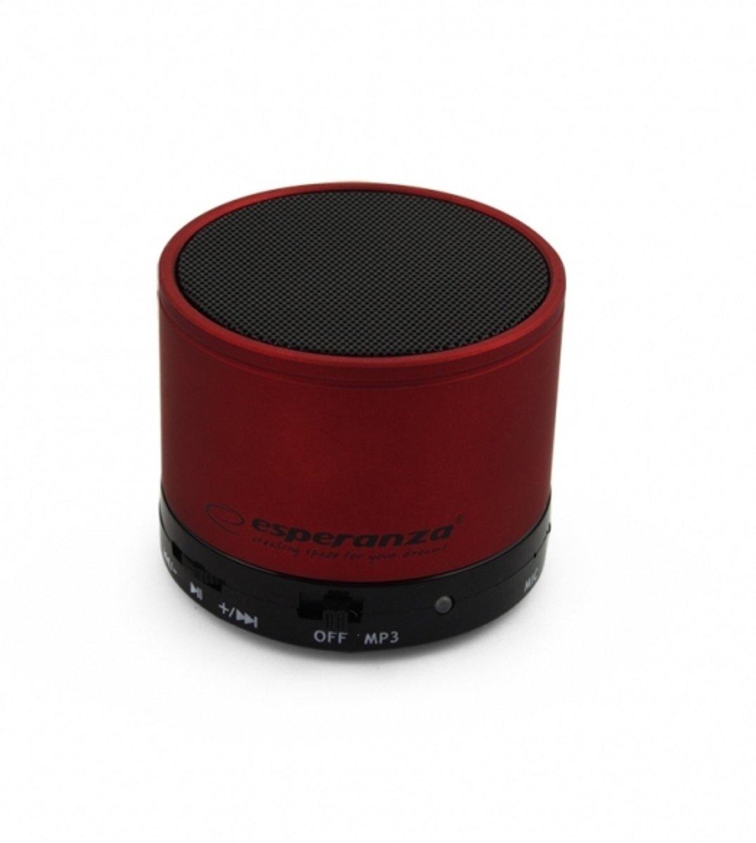 Esperanza Bluetooth Speaker Ritmo - Rood kopen