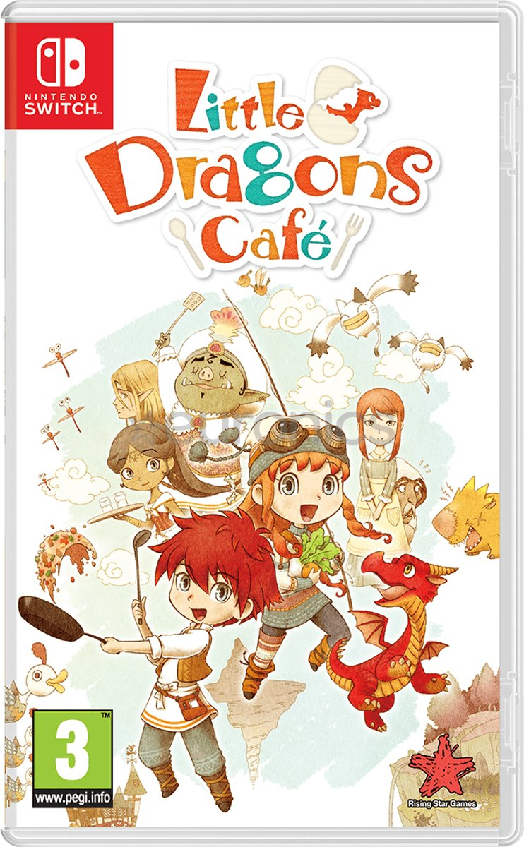 Little Dragons Café Switch