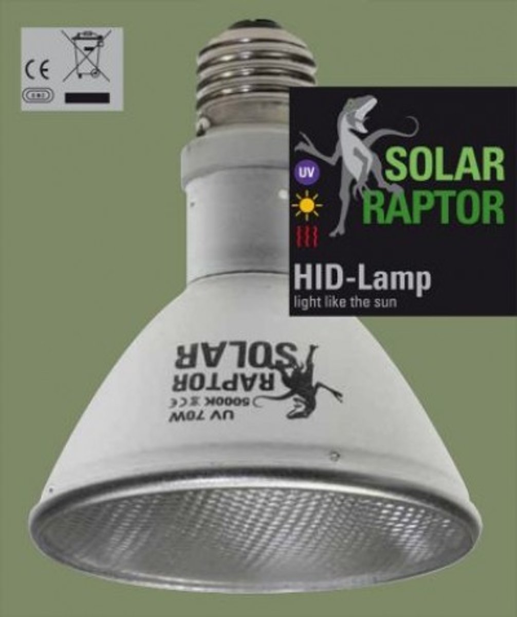 Solr Raptor HID lamp, 35 watt